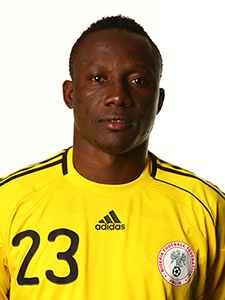 World cup player Dele AIYENUGBA from